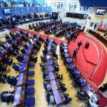 La Asamblea decretó un receso el pasado 1 de mayo, cuando le tocaba tomar posesión a la nueva legislatura. foto edh / ARCHIVO