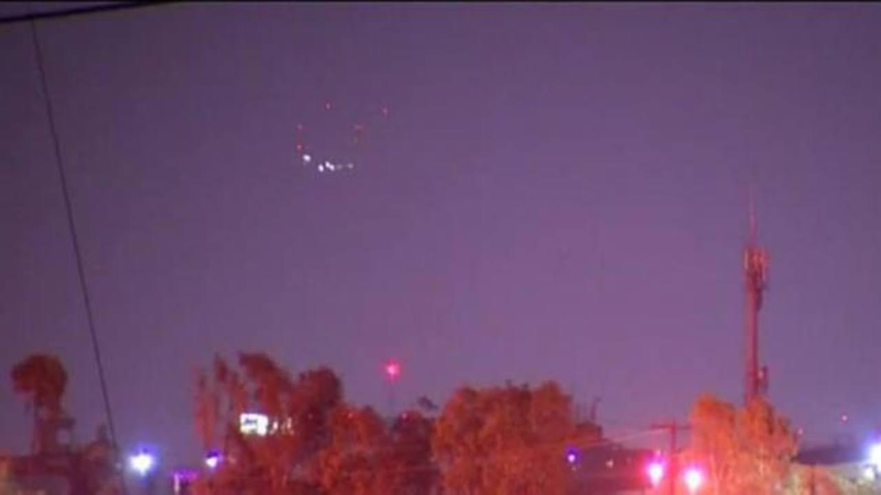 VIDEO: Captan misteriosas luces en San Diego