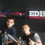 Derby Carrillo y Gerson Mayén, en Los Provocadores. Foto EDH/Gustavo Flores