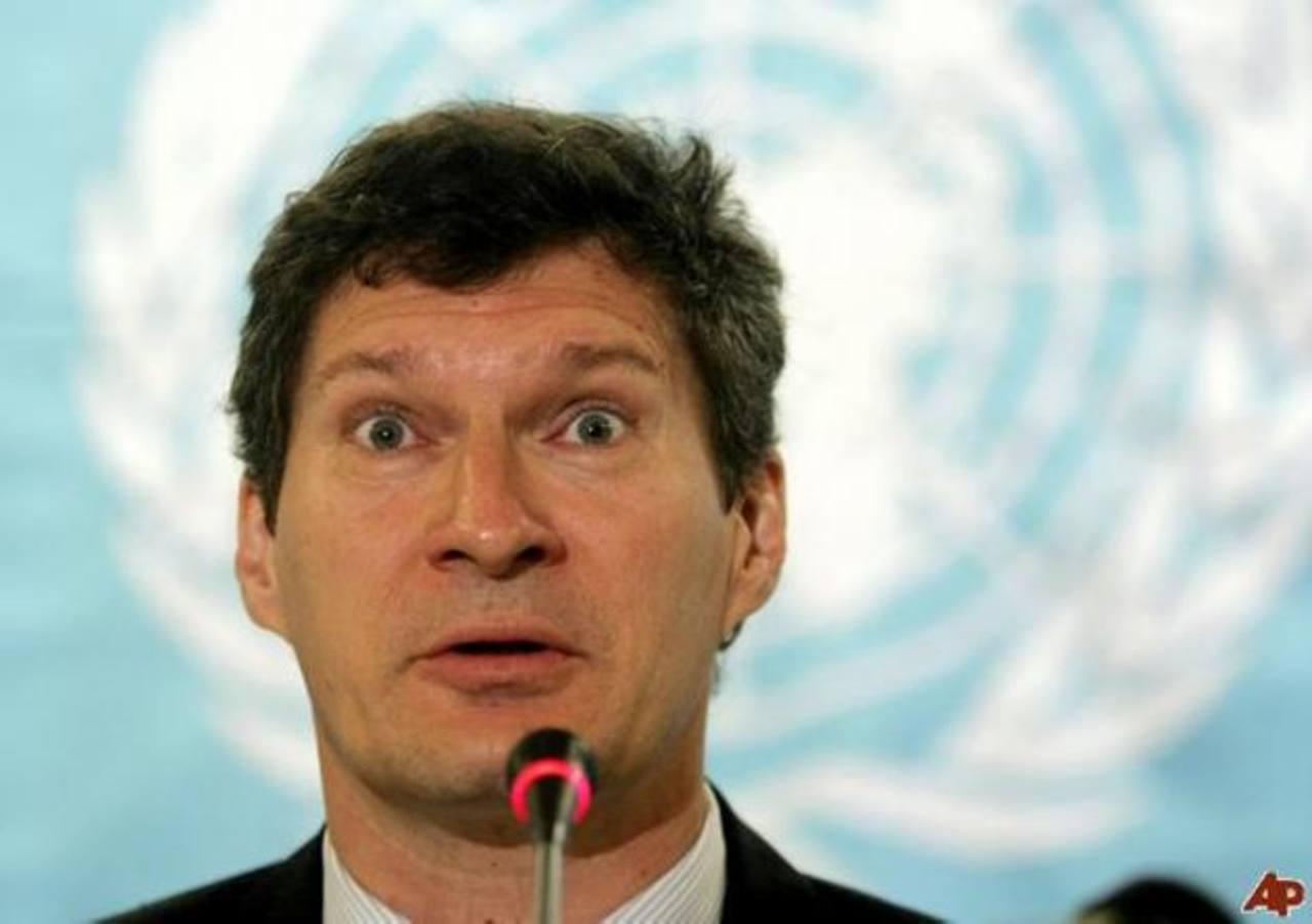 Neil Buhne, director del PNUD en Ginebra.