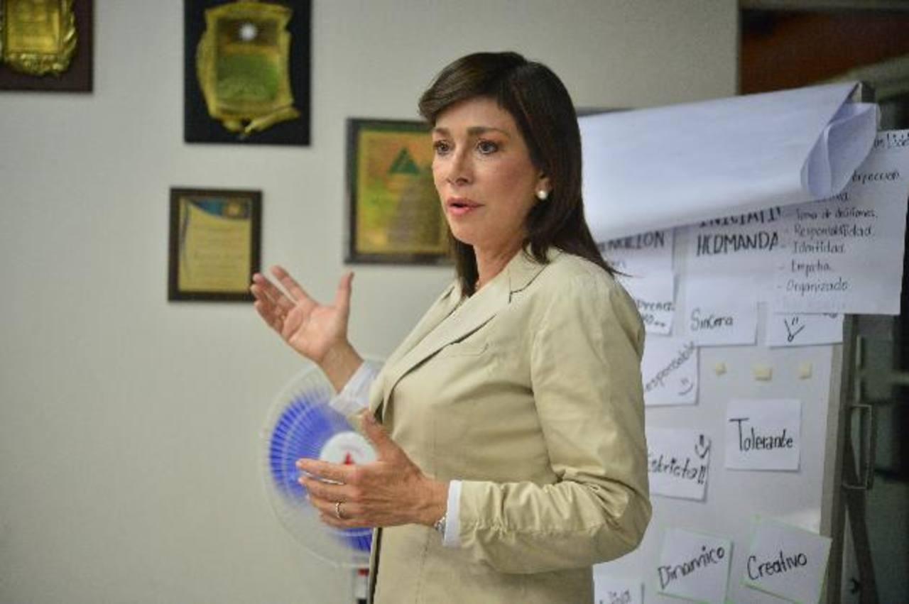 Ana Vilma de Escobar, asumirá para un segundo periodo legislativo.