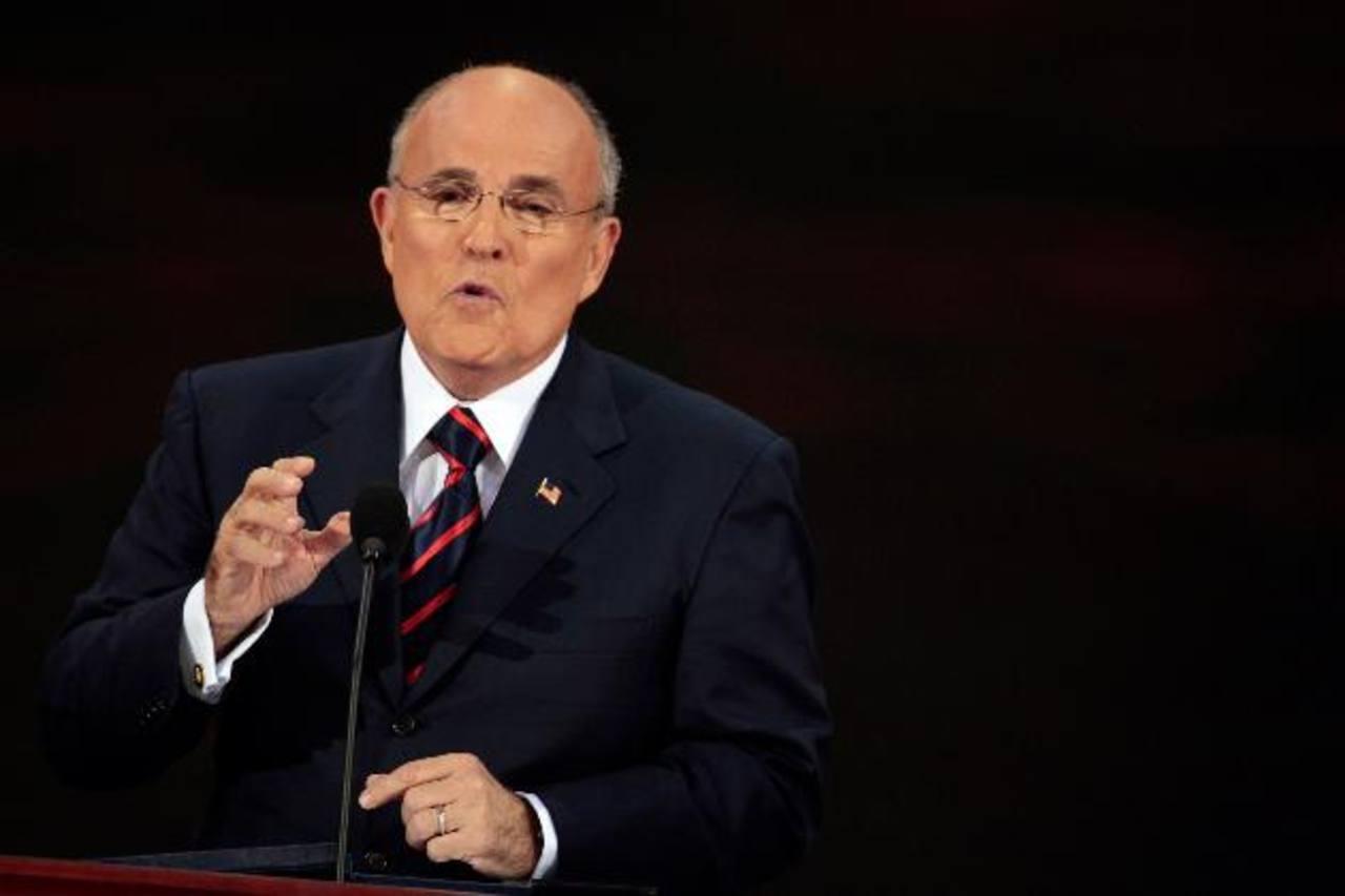 Rudolph Giuliani presentará hoy por la tarde su propuesta de combate a la criminalidad, basado en su experiencia en Nueva York. foto edh / archivo