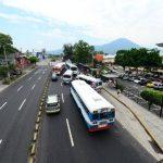 El VMT improvisa el recorrido del Sitramss al Salvador del Mundo