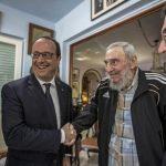 Hollande se reúne con los Castro en histórica visita a Cuba