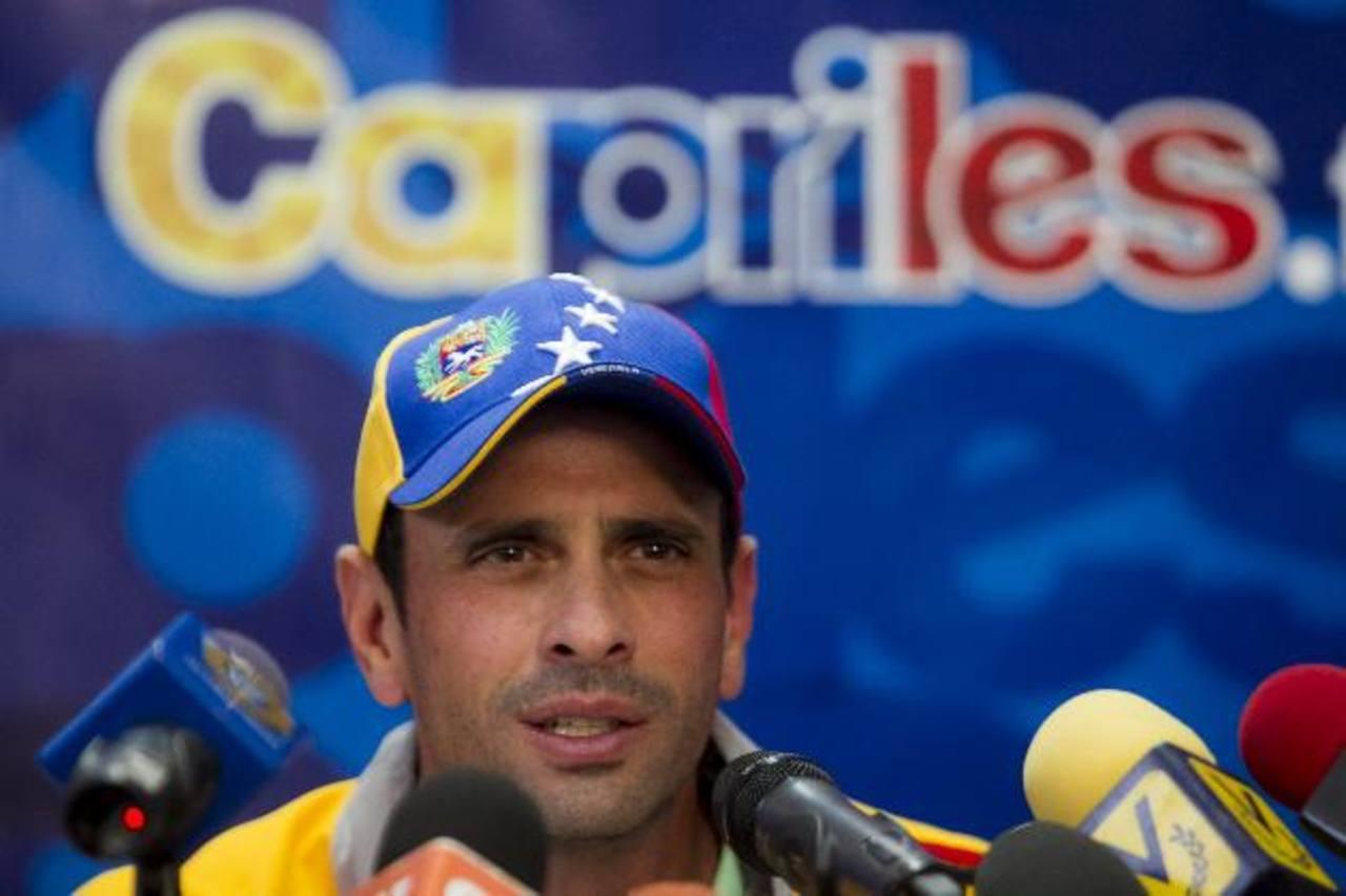 Partidos de Capriles y López vencedores en primarias opositoras venezolanas