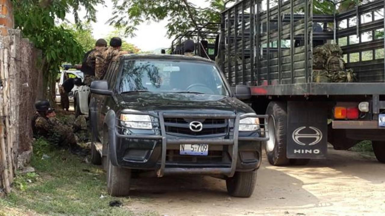 Fuerza Armada despliega primer batallón contra pandillas en Aguilares