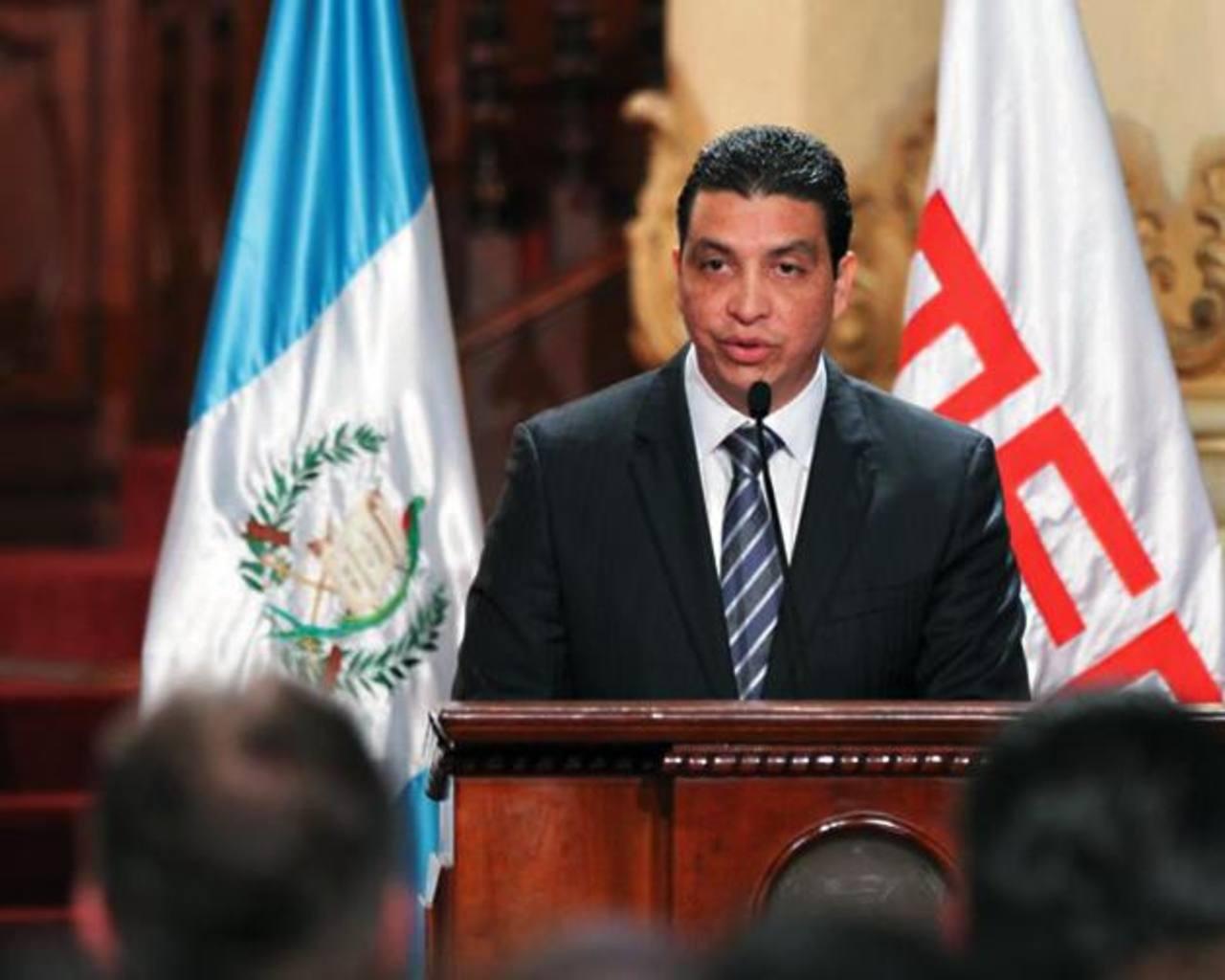 El ministro de Energía y Minas de Guatemala, Erick Archila, presentó ayer su renuncia. Foto EDH / www.lanacion.com.g