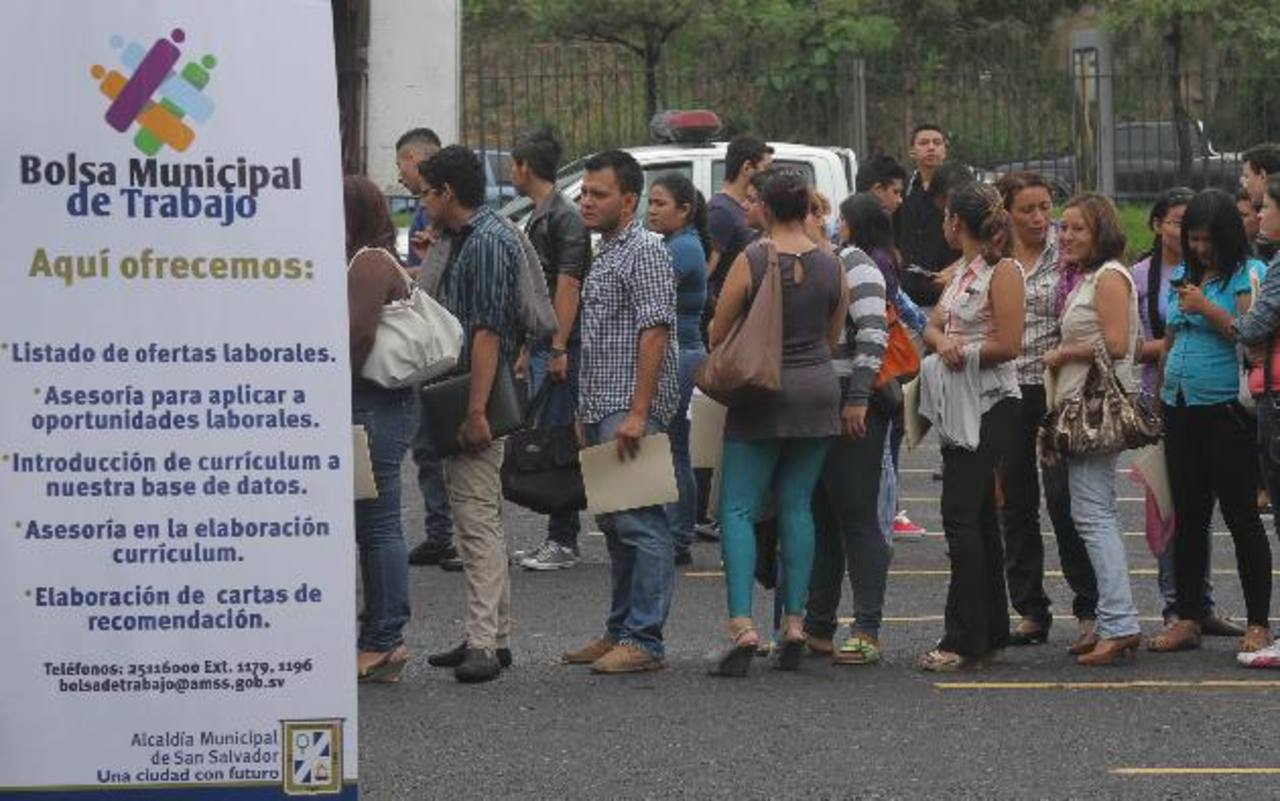 El Salvador, el segundo con más desempleo de Centroamérica ...