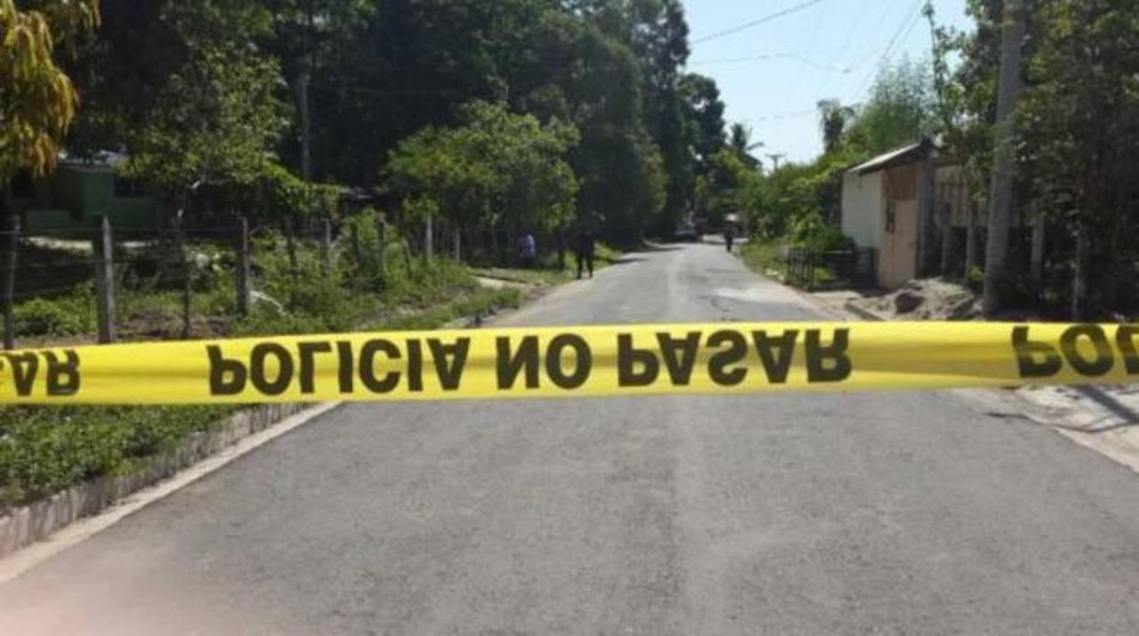 Un empleado de una maquila fue asesinado la mañana de este martes en cantón La Palma, San Rafael Obrajuelo, La Paz.