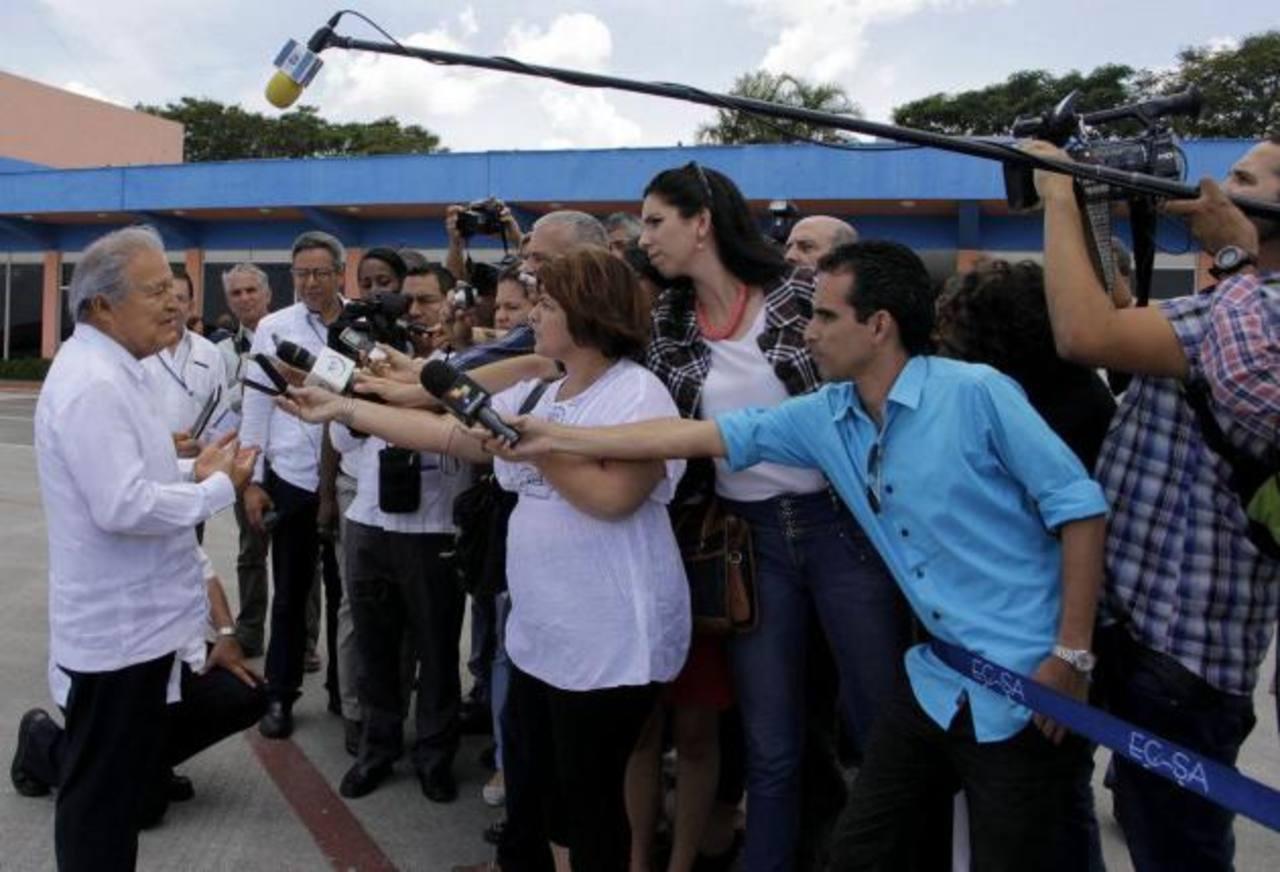 Mayoría desaprueba la gestión de Sánchez Cerén
