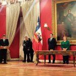 Presidenta de Chile anuncia cambios en su gabinete. /