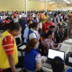 El recuento ordenado por la Sala de lo Constitucional duró 18 días en el CIFCO. FOTO EDH / ARCHIVO