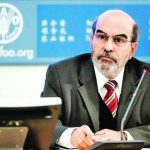 El director de la Organización para Alimentación y la Agricultura (FAO), José Graziano da Silva.