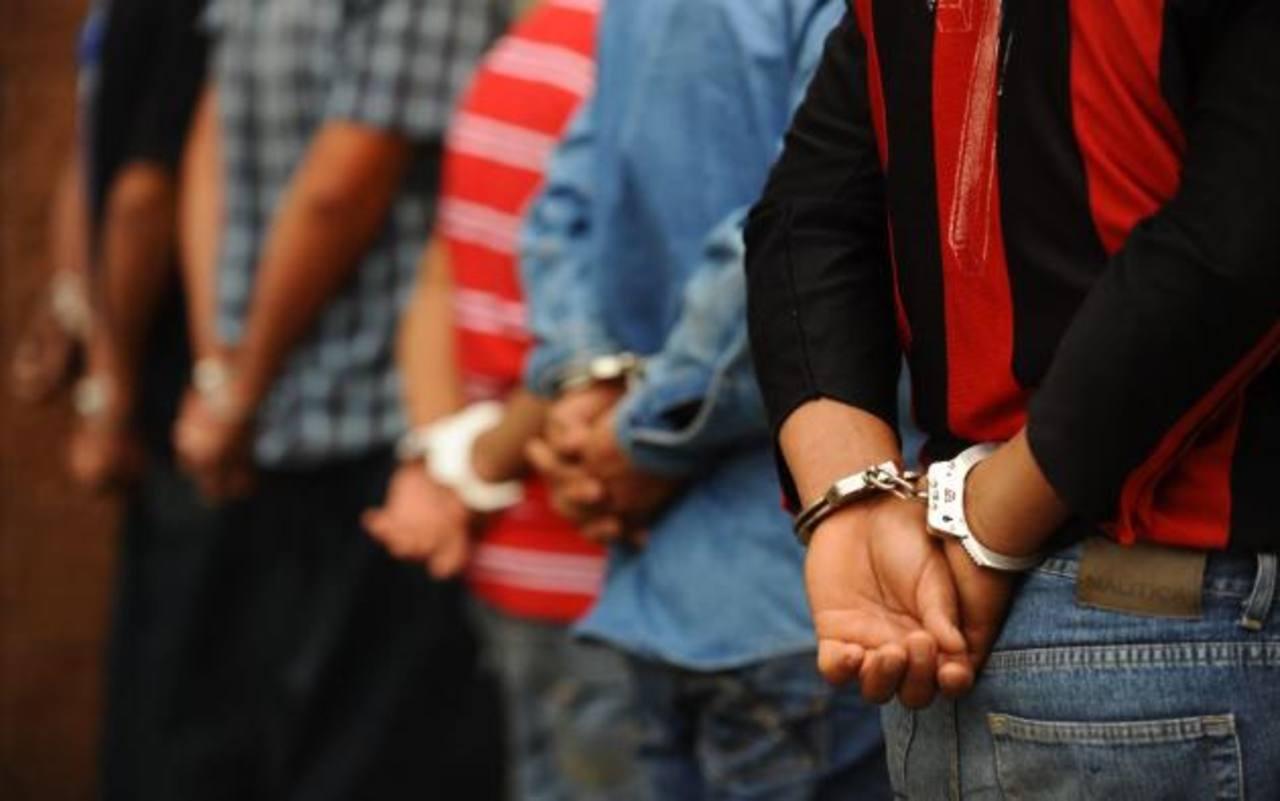 Capturan en Guatemala a 8 pandilleros acusados de participar en 28 homicidios