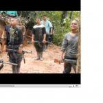 El 22 de enero de 2014, tras un combate del Ejército colombiano contra las FARC, los militares hallaron videos de niños que son entrenados por los terroristas. Foto EDH / tomado de elmundo.es