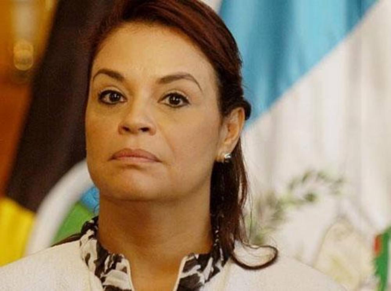La exvicepresidenta, Roxana Baldetti. foto edh / internet