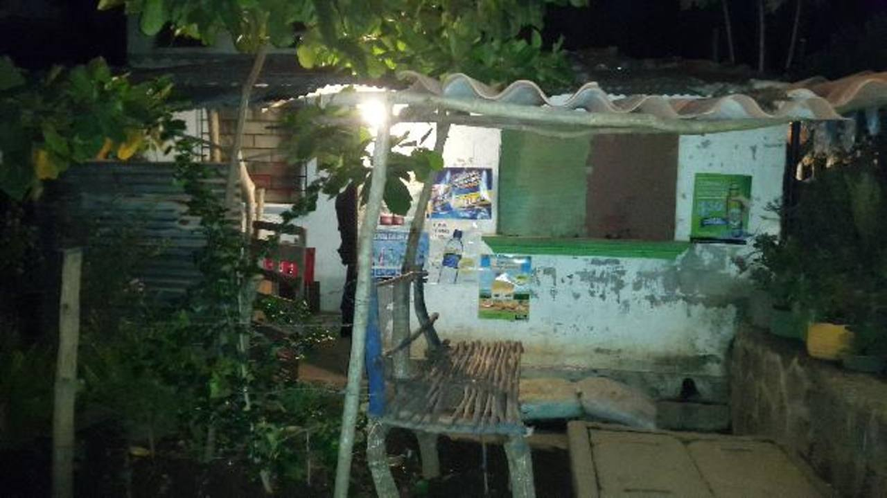 Lugar donde ocurrió el homicidio contra Paulino Palma.