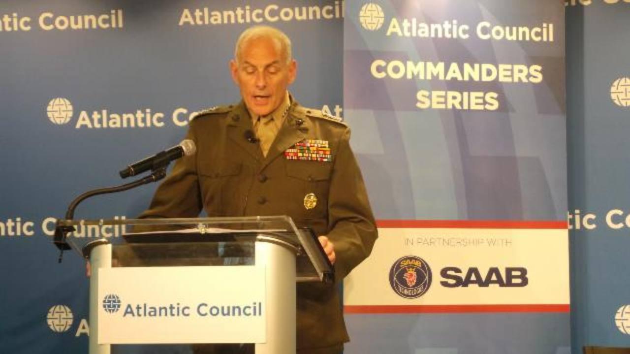"""General John F. Kelly: """"Tenemos la obligación moral de ayudar al Triángulo Norte a erradicar la violencia"""""""