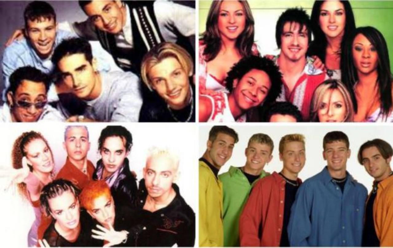 Fotos y Videos: 15 grupos pop que dominaron los 90