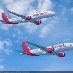 Con los modelos A320neo y A321neo Avianca pretende renovar y ampliar su flota de más de 100 aeronaves que opera entre Latinoamérica y Europa. Foto EDH / Cortesía
