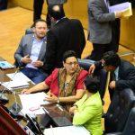 El FMLN y GANA necesitarán un voto para los 43 votos de la mayoría simple. foto/ edh Archivo