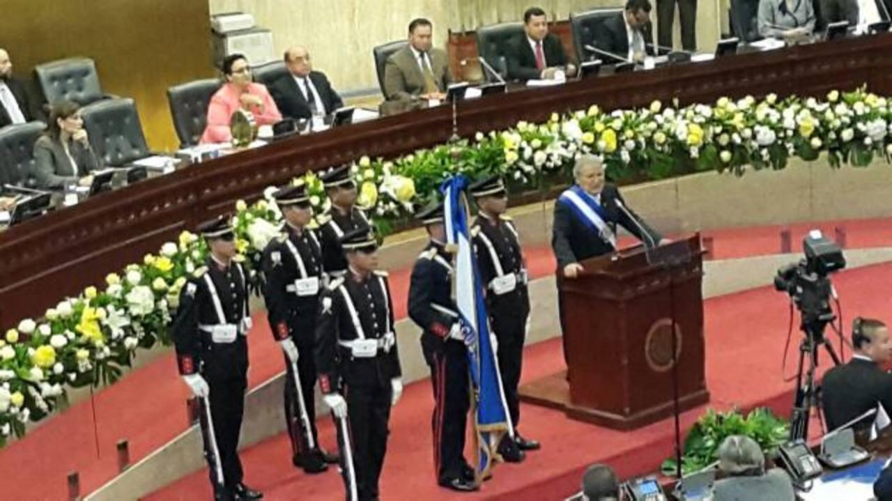 Sánchez Cerén rinde informe de primer año de gobierno