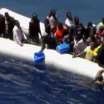 Video muestra rescate de migrantes en el Mediterráneo