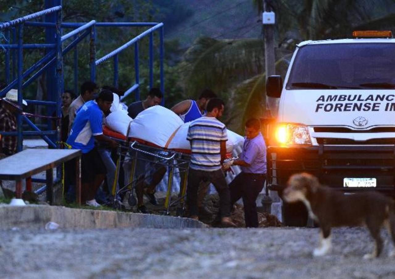 Matan a Óscar Osmín López, cuando trabajaba en el parque de Tepecoyo. Foto EDH / René Estrada