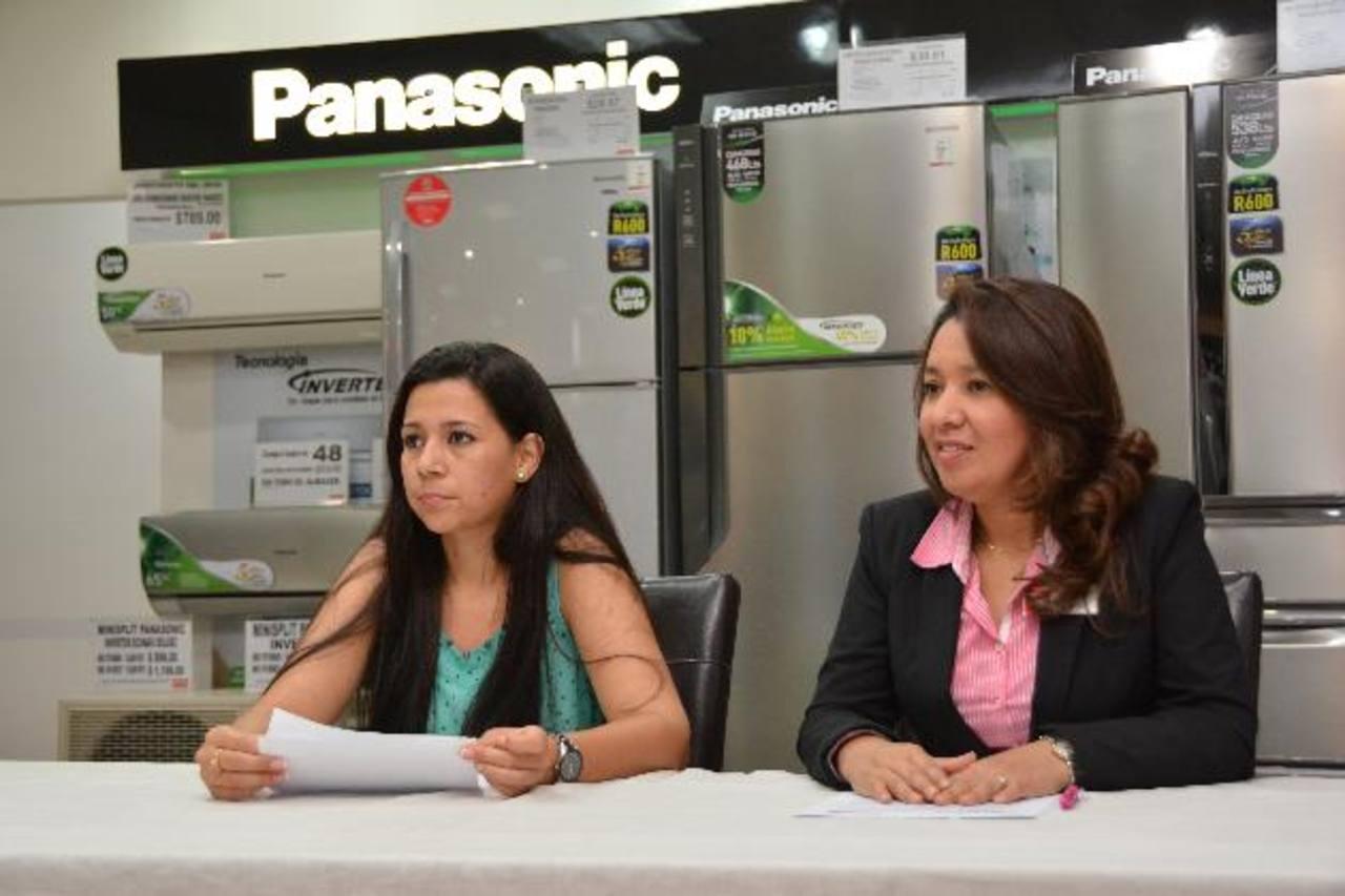 Panasonic ofrece una amplia gama de productos para quedar bien esta temporada. Foto EDH / Xenia Zepeda
