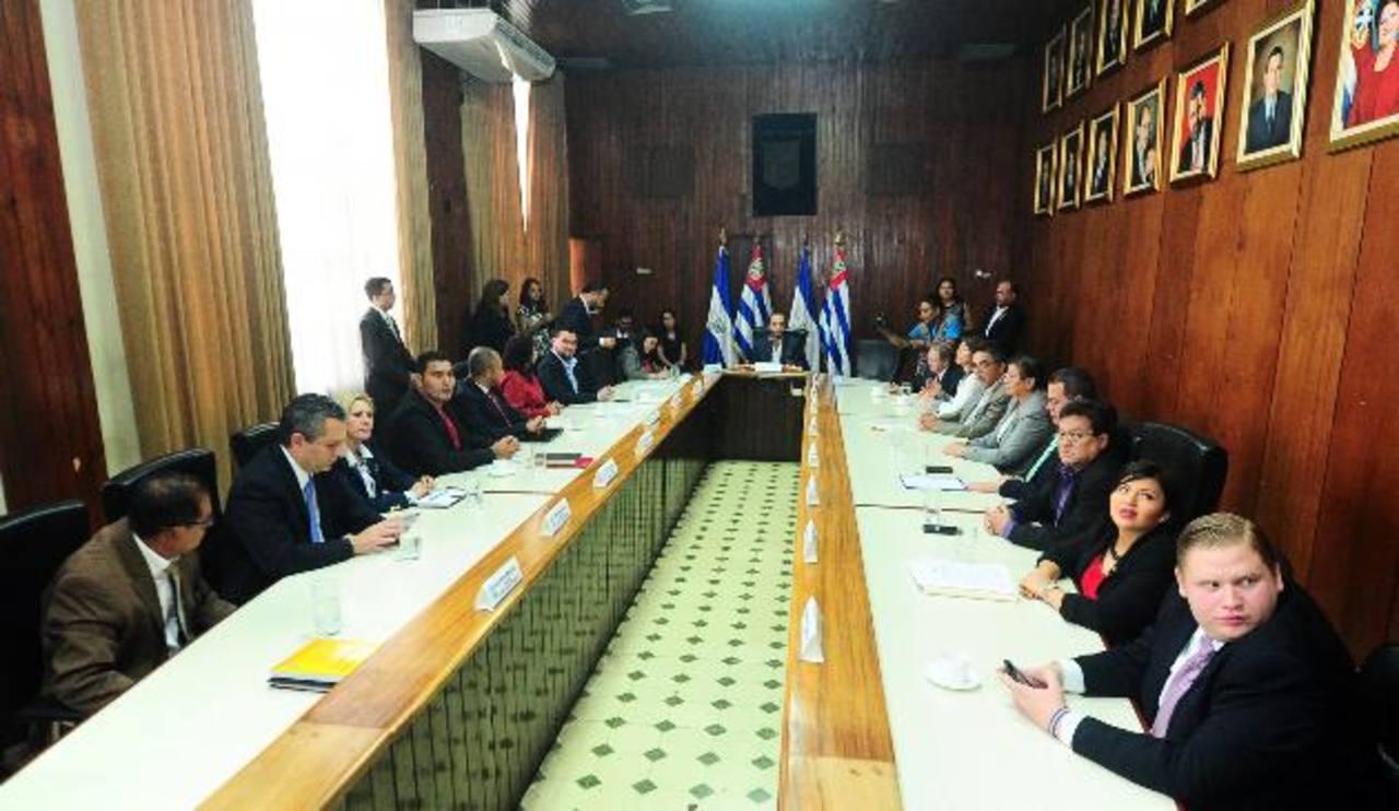El Concejo Plural de San Salvador definió varios acuerdos y sesionará la próxima semana. foto edh / r. quintanilla
