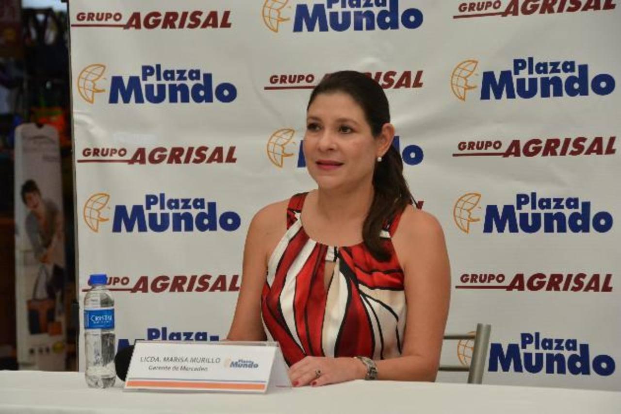 Ejecutiva de Plaza Mundo, da detalles del festival. Foto EDH