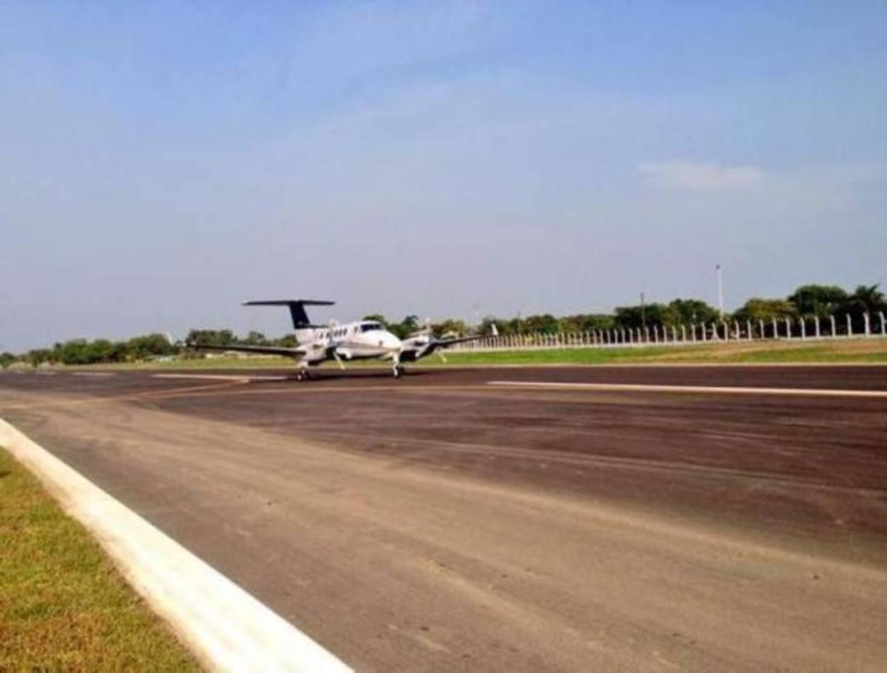 El aerodromo está ubicado en la ciudad caribeña de Tela. foto edh / Archivo