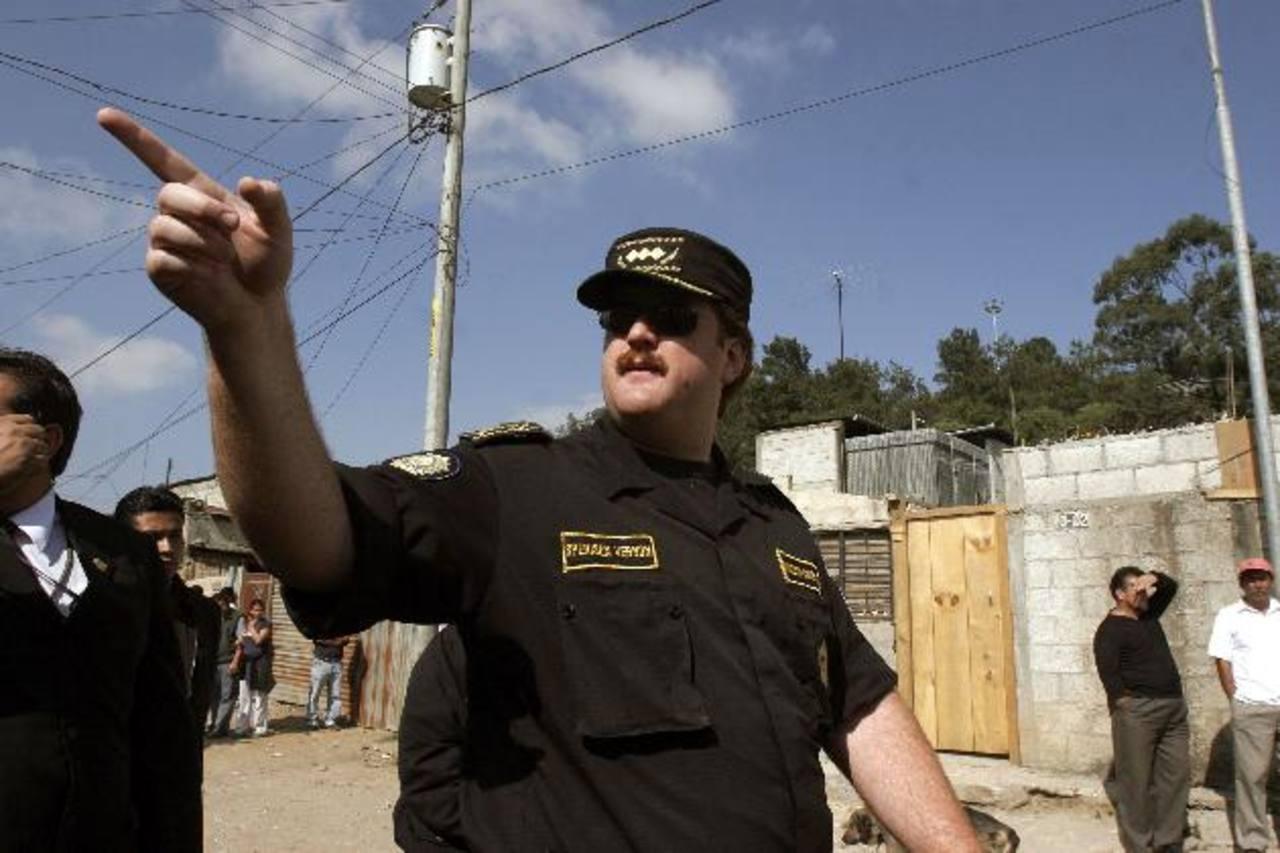 El exjefe de la Policía de Guatemala Erwin Sperisen.