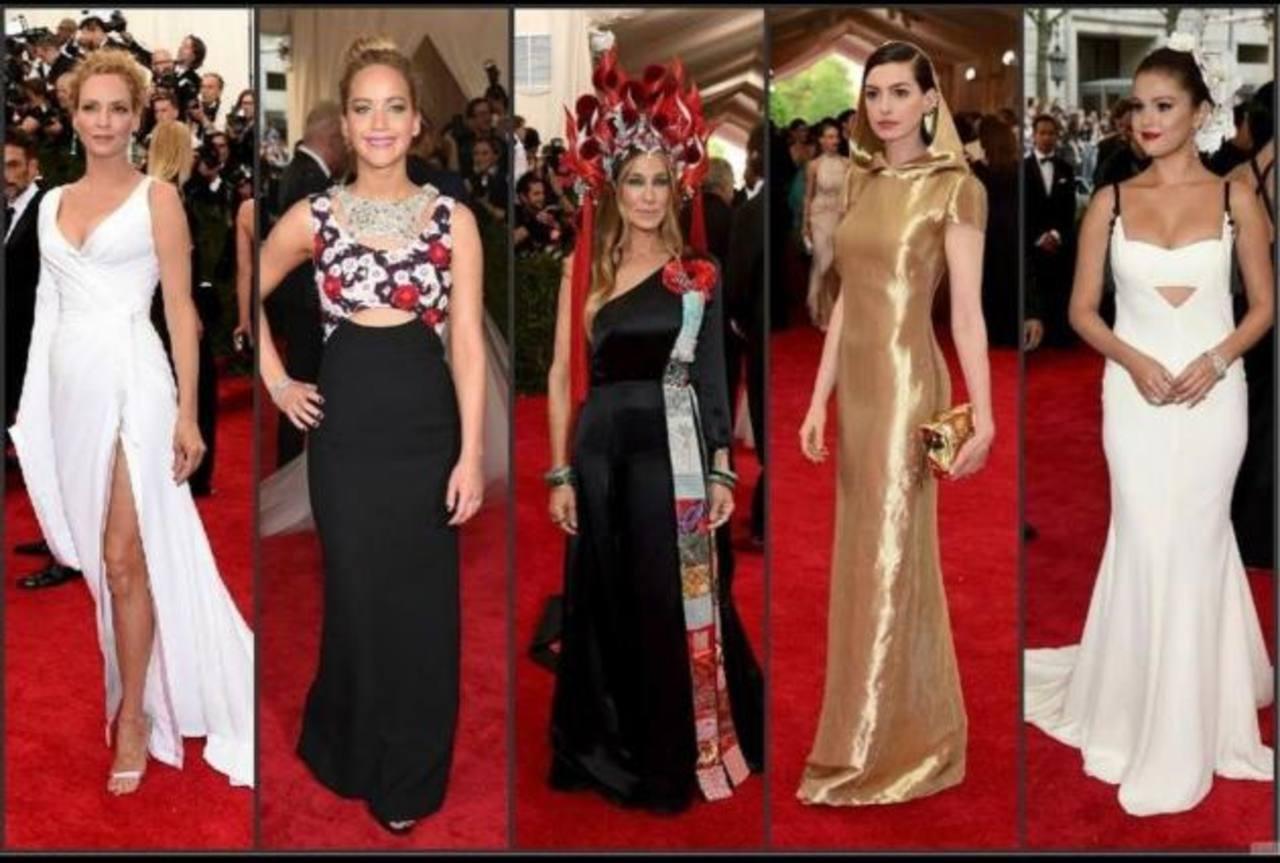 """Famosas destacaron en gala benéfica del """"Metropolitan Museum de Nueva York"""""""