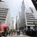 10 heridos en Nueva York al caer una gran carga que levantaba una grúa