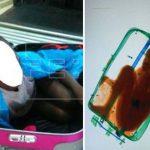 Detienen a mujer que intentaba llevar, a España, a niño escondido en una maleta