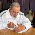 Cuba: Fidel Castro recibe al canciller de Japón