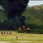 Accidente de aeronave militar deja 12 heridos en Hawai