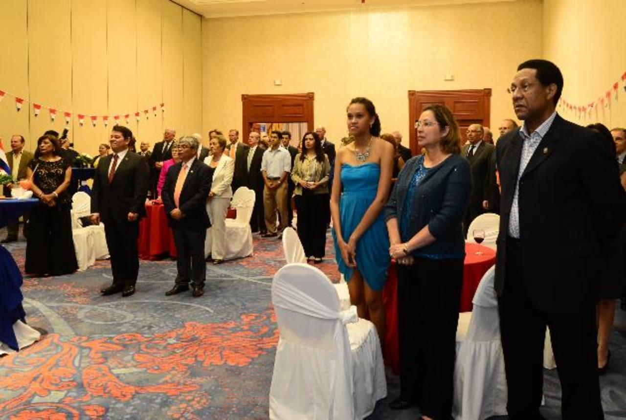 Los asistentes disfrutaron la velada en un hotel capitalino. fotos edh / miguel villalta