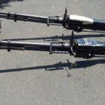 Las autoridades confirmaron que son tres las ametralladoras decomisadas
