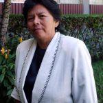 Alba Lizama fue una de las primeras mujeres reporteras en EDH. Foto EDH / Cortesía