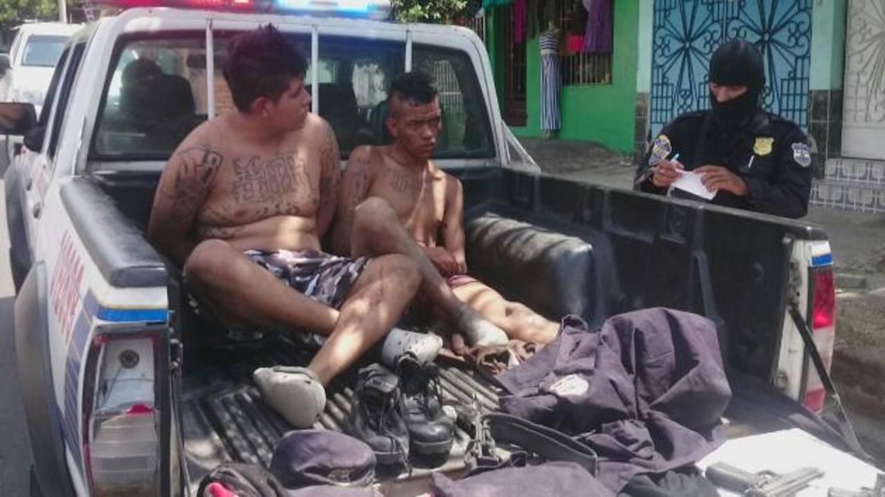 PNC reporta un pandillero muerto y dos capturados tras enfrentamiento en Ilopango