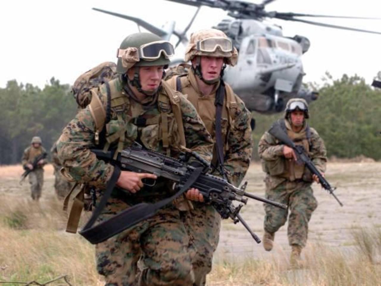 EE. UU. envía fuerzas de entrenamiento a El Salvador y Centroamérica