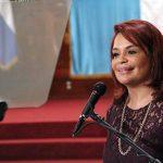 Congreso acepta renuncia de vicepresidenta de Guatemala