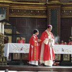 Misa de acción de gracias por beatificación Monseñor Óscar Arnulfo Romero en Catedral Metropolitana de San Salvador.