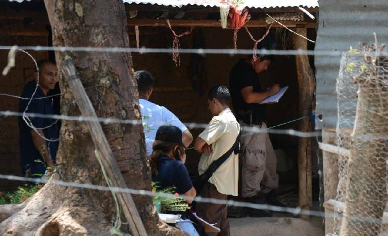 El hombre se quitó la vida en la casa que compartió con su pareja. Foto EDH / Douglas Urquilla