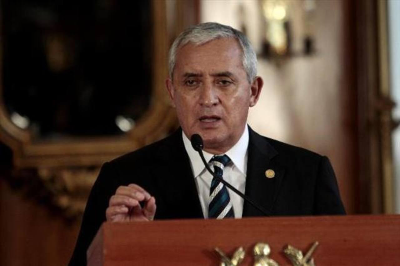 El presidente de Guatemala, Otto Pérez Molina, no quiere dimitir. foto edh / Archivo