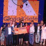 Los ganadores del primer lugar del año 2011, la fundación Salvadoreña Educación y Trabajo EDYTRA. Fotos EDH/ Archivo
