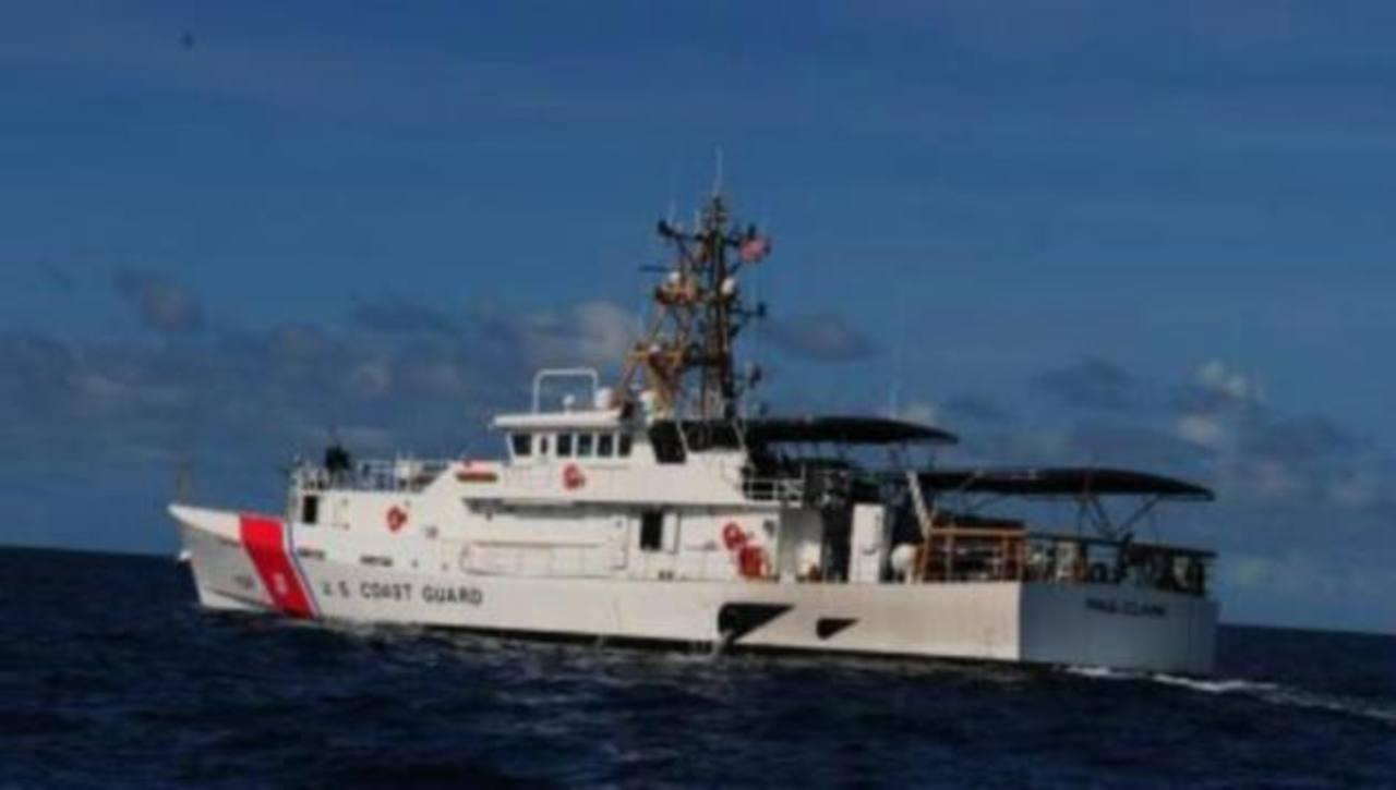 Barco patrullero Vigilant, de la Guardia Costera. /