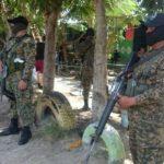 El operativo en la colonia Villa Kiwanis, en Soyapango, participó personal de PNC y del Ejército.